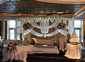 Indian wedding decoration elegant cloth